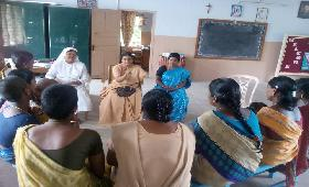 Preliminary Discussion and Training for Vocational Based Training at Anmarudai, Thiruvanamalai