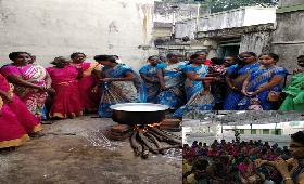 SHG Members - Samathuva Pongal, Competitions were conducted and given prizes