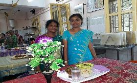 SHG Members participated in the Catering Training at Chennai